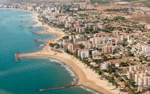 Benicassim is well known for its beaches and its music festivals