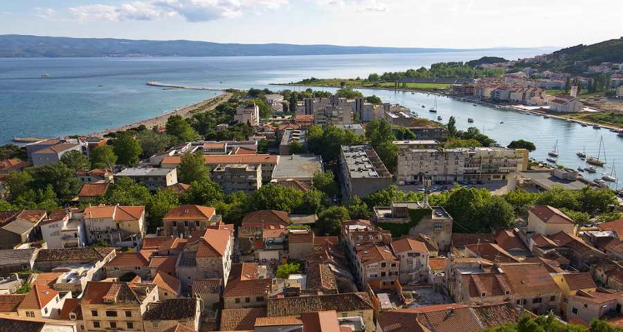 Omis is a small and shiny gem of Dalmatia